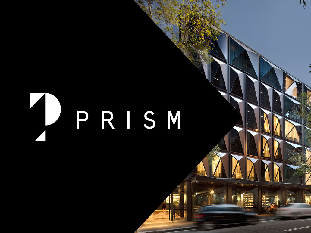 Prism Facades, Website development by Banter Group