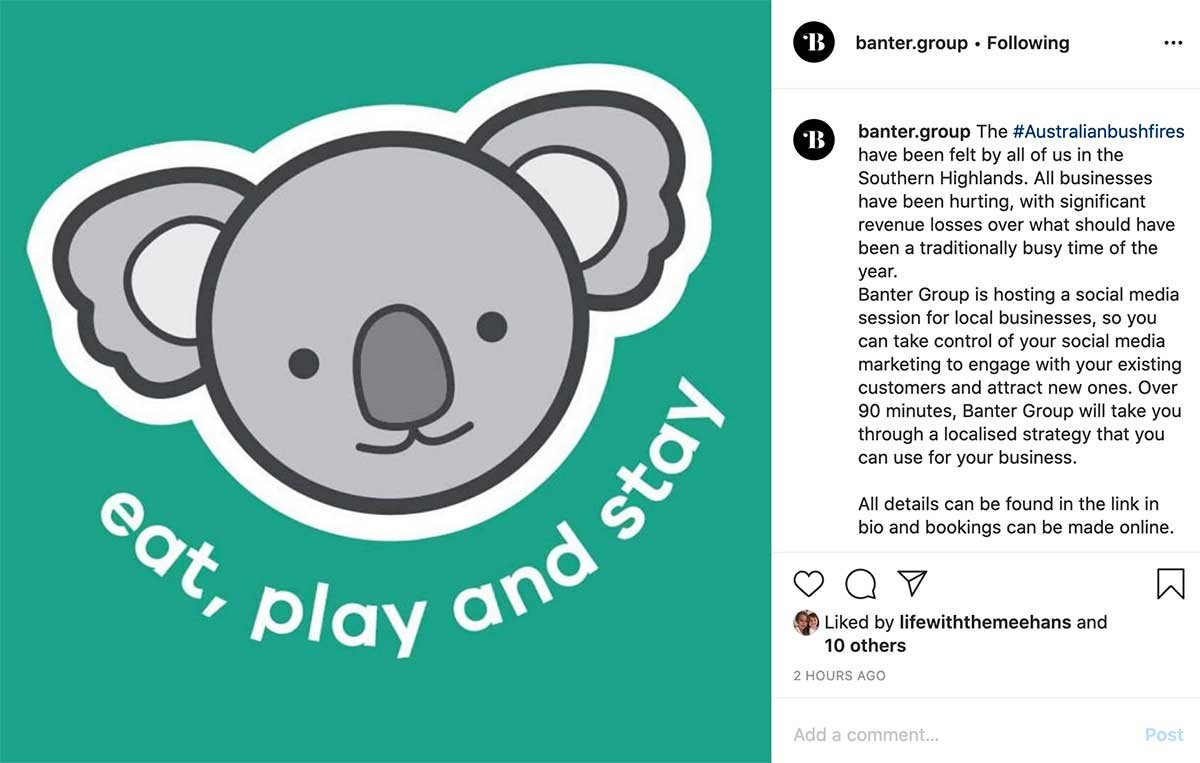 Nailing Instagram Captions, Banter Group Marketing Blog