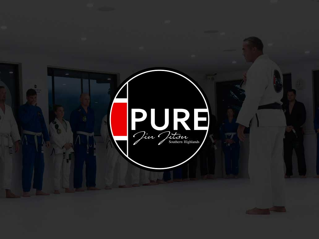 Pure Jui Jitsu WordPress website, Banter Group, Marketing Agency