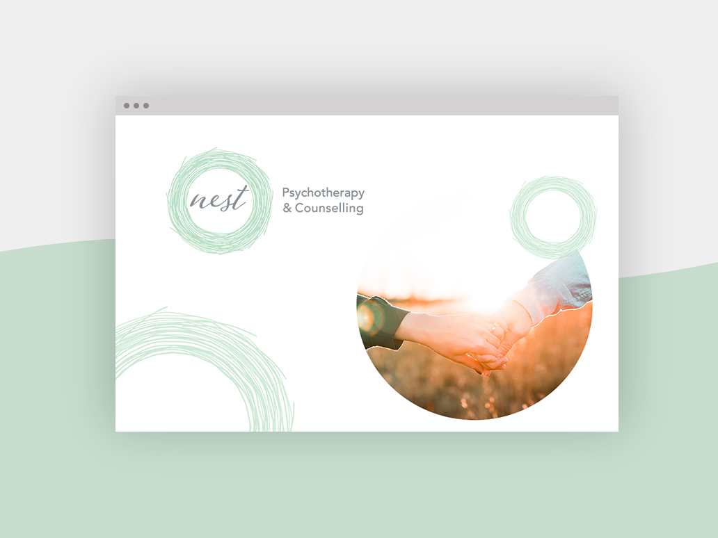 Nest Counselling Website designed by Banter Group