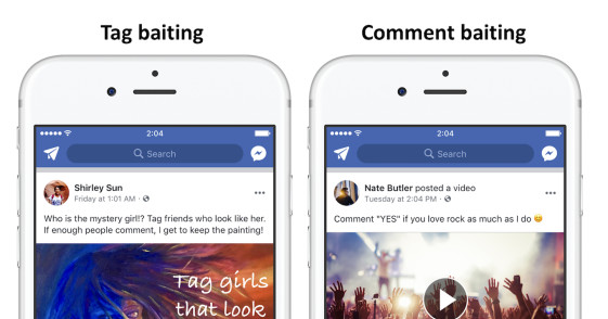 Facebook Demotes Videos With Engagement Bait