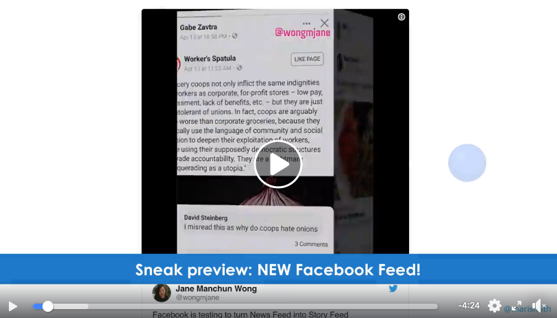 Facebook Feed Changes 2019