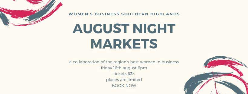AUgust Night markets, Southern Highlands