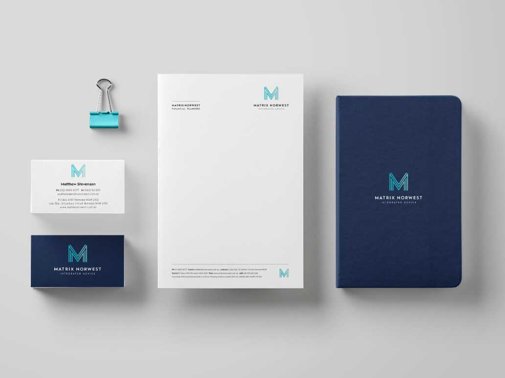 Matrix Norwest Stationery Design, Banter Group, Marketing Agency